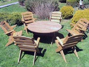 Как выбирать мебель для сада, материал для садовой мебели